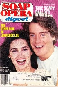 Soap Opera Digest July 20 1982 Kim Delaney Lawrence Lau All My