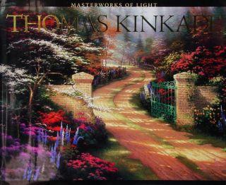 Thom Kinkade Hand Signed Autographed Masterworks of Light Mint Coffee