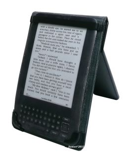 Purple Leather Case Cover for Kobo Touch Kindle 4 Light Lamp