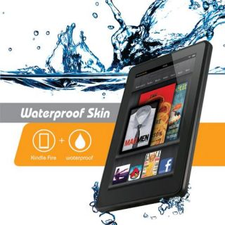 iOttie Kindle Fire Waterproof Clear Skin Case Pouch for Bath Beach