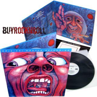 Mobile Fidelity LP In The Court of The Crimson King Album MFSL 1 075