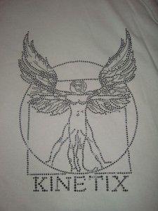 Kinetix Mohawk Grey Hoody w Black Stone Logo Med New