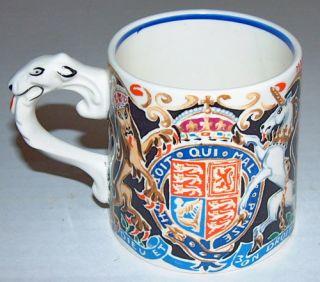 King Edward VIII Coronation Souvenir Mug