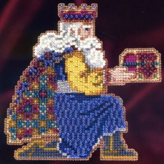 Bead Christmas Cross Stitch Kit Mill Hill 2011 Magi Trilogy