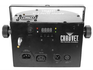 New Chauvet Mini Kinta 3W LED RGB DMX Sound Activated Ambient DJ