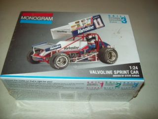 Revell Monogram Kinser Valvoline Sprint Car Factory SEALED