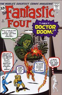 Jack Kirby Fantastic Four 5 RARE Production Art Cover