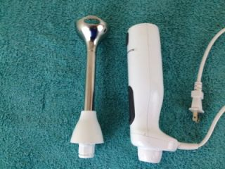 KitchenAid KHB100WH Immersion Hand Blender Mixer Multi Speeds White
