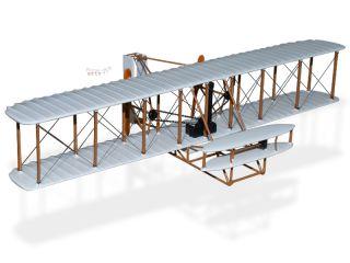 Wright Flyer Kitty Hawk Wood Desktop Airplane Model
