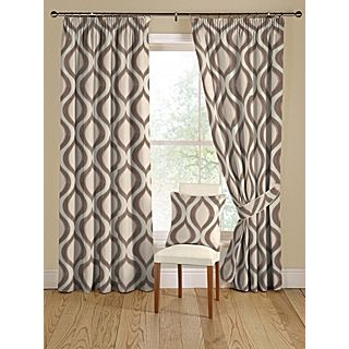 Montgomery Tear Drop teal curtain range