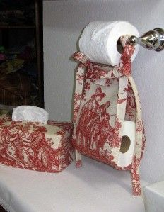 Designer Bathroom Set Kleenex Toilet Paper Holder