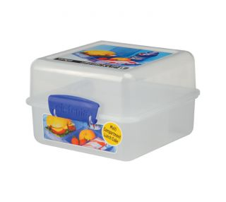 Klip It 6 Cup Lunch Cube Lunch Box Food Storage Container BPA Free by