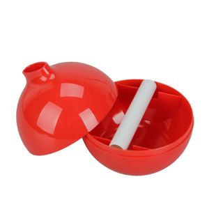 New Fashionable Round Bomb Shape Tissue Paper Box Holder Red