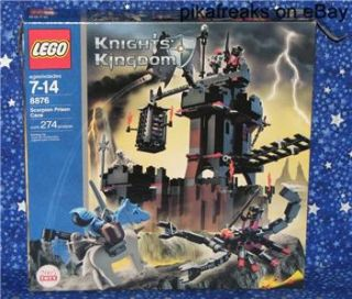 Lego 8876 Knights Kingdom Theme Scorpion Prison Cave Complete Play Set