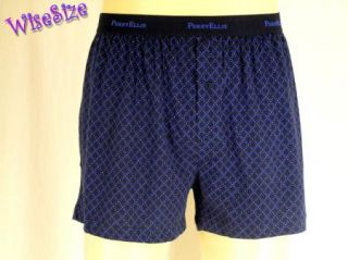 Blue Diamond Stretch Knit Boxer Shorts Underwear Relaxed Fit