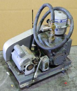 M95791 Kinney Vacuum KC 8 High Vacuum Pump w Dayton AC Motor