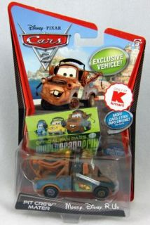 Cars 2 Pit Crew Mater Kmart Exclusive Fan Pass Toy Diecast New