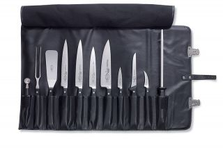 Dick 11 Piece Knife Chefs Set with Roll Bag