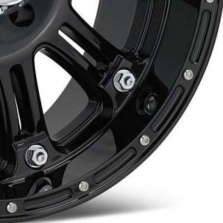 20 KMC XD 795 Hoss XD Series Gloss Black Finished Wheels 20x9
