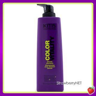 KMS California Color Vitality Blonde Shampoo Restored Radiance 25 3oz