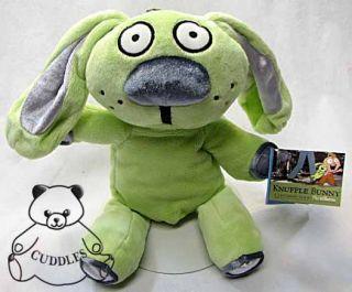 Knuffle Bunny Rabbit Yottoy Plush Toy Stuffed Animal Green Character
