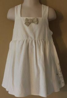 Koala Kids Toddler Girl Lined Holiday Dress Cream Ivory Sz 3T $29 99