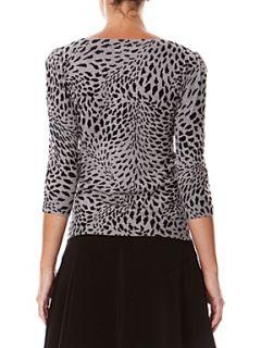 Kookai Leopard print sweater Grey
