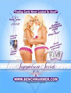 2008 Bench Warmer Signature Series Card 9 Kitana Baker