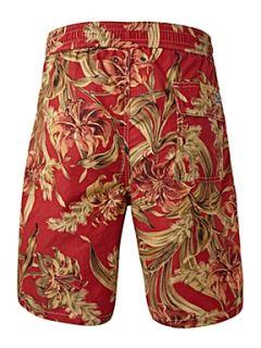 Polo Ralph Lauren Floral swim short Red