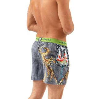 Ed Hardy Fire Bird Knit Boxer Navy