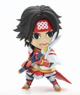Koei Sengoku Muso Samurai Warriors 3 Mini Figure Vol1 Sanada Yukimura