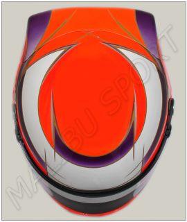 Kamui Kobayashi Formula F1 Replica Helmet Scale 1 1 New