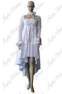 Vampire Knight Yuuki Cross White Gown Cosplay Costume Halloween