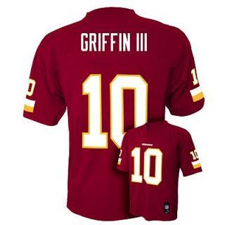 Robert Griffin III Washington Redskins Kids Boys NFL Youth Jersey