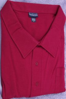 Casual Shirts Pull Over Style Half Sleeve Solids Boulevard 6X Big 7x
