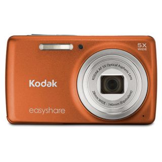 Kodak EasyShare M552 Orange 14MP Digital Camera + 2GB + Case / Bag   6