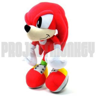 Sonic The Hedgehog Classic Knuckles Plush Doll Sega
