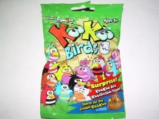 NIP Koo Koo Zoo KooKoo Birds Single SEALED Mystery Pack