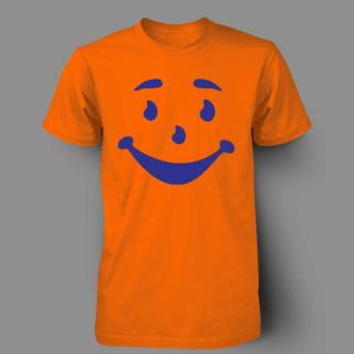Kool Aid Man Face Funny Retro Vintage RARE Mens T Shirt