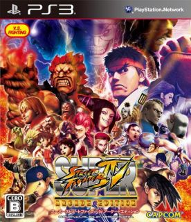 Capcom Super Street Fighter IV Arcade Edition for PS3 Japan Import