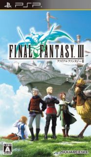 Final Fantasy III for Sony PSP Japan Import Video Game