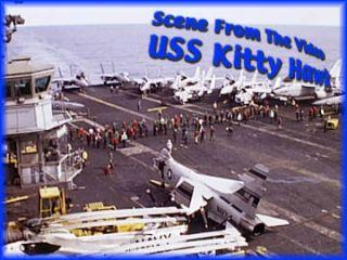 USS Kitty Hawk CV 63 Aircraft Carrier Navy Vietnam War