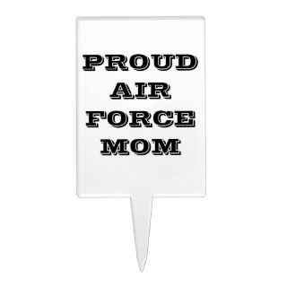 Cake Topper Proud Air Force Mom