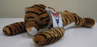Fiesta Toys Plush 18 Tiger Peek A Boo Pillow New