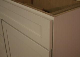 Kraftmaid Canvas Bathroom Vanity Sink Base Cabinet 36 Granite Tops in