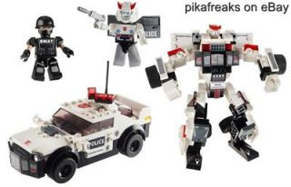 30690 Kreo Building System PROWL Transformers 2 in 1 Play Set with 174