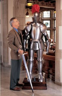 77 Italian Made Full Suit Knight Armor Statue Sculpture