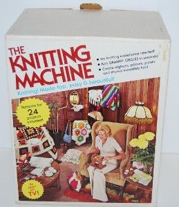 The Knitting Machine Vintage from 1975 Knitting Made Easy