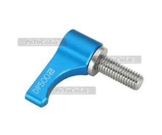 Aluminum Wingnut Thumb Knob Screw L Shape F 15mm Rail Rod Clamp