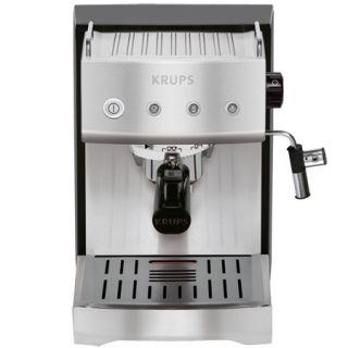 Krups XP5280 Pump Espresso Machine Two Cup Dual Shot Programmable